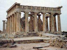 Temple of Aphaia, Aigina, Greece