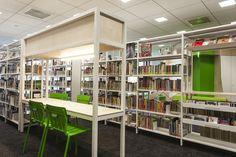 L'aménagement de la bibliothèque de la Cité