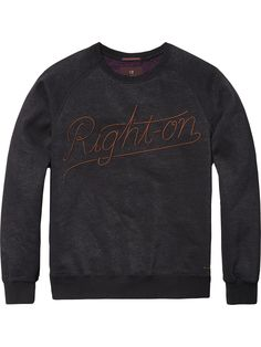 Embroidered Sweater   sweat   Men Clothing at Scotch & Soda