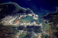 Astronaut Tweets Stunning Photo of The San Francisco Bay from Space
