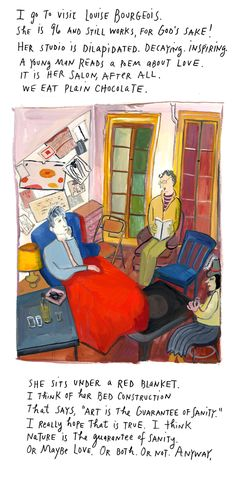 """from Maira Kalman's  NYT column, """"And the Pursuit of Happiness"""":    Ich Habe Genug"""
