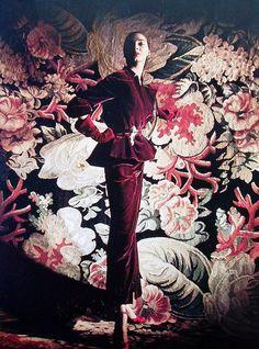 Betty Threatt  by Louise Dahl Wolfe for Harpers Bazaar 1949