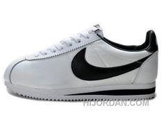 competitive price 172fe d56fe Nike Classic Cortez Nylon White Black Online NtaQt, Price   52.53 - Air  Jordan Shoes, Michael Jordan Shoes