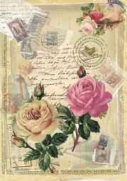 Amarelo...simples assim ! : LÂMINAS FLORES VINTAGE Decoupage Vintage, Vintage Diy, Vintage Rosen, Decoupage Art, Vintage Crafts, Vintage Ephemera, Vintage Paper, Vintage Postcards, Vintage Pictures