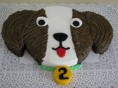 puppy dog cakes for kids images | Birthday and Party Cakes: Puppy Dog Cake Recipe for Kids