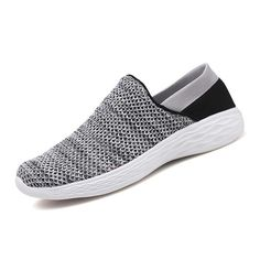 0f46aee3dfb3df  US 64.02  Men Casual Comfy Light Weight Slip On Sneakers  casual  comfy