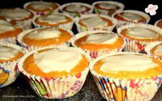 Cozinhando sem Glúten: Mini bolinhos de limão e iogurte