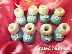 This is a tutorial on how to make fondant baby booties which can be used as cupcake toppers. They are easy to make and look very cute and adorable. ...