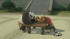 Habitat Of Panda Bear Funny Gif - Funny Panda Gifs Tigress Kung Fu Panda, Po Kung Fu Panda, Po And Tigress, Panda Images, Laughing Animals, Dragon Warrior, Dreamworks Animation, Big Hero 6, Love Movie