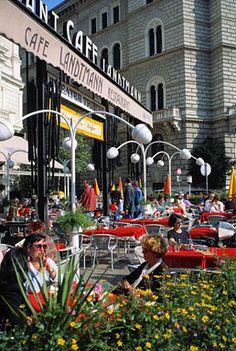 Cafe Landtmann. AUSTRIA.