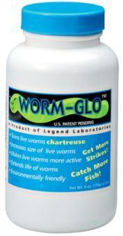 SURE LIFE LEGEND LAB FISHING STOCKING COMBO PACK 2 WORM GLO AND BETTER BAIT