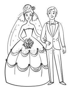 29 fantastiche immagini su disegni sposi spose disegni for Sposi immagini