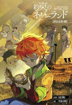 Ler mangá The Promised Neverland (Yakusoku no Neverland) Anime Ai, Manga Anime, Norman, Haikyuu, Gekkan Shoujo, Manga Covers, Anime Shows, Neverland, Me Me Me Anime