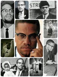 مالكوم إكس، رجل في زمن فقير من الرجال! Black Leaders, Black Roots, Human Rights Activists, Civil Rights Leaders, By Any Means Necessary, Black Love Art, Malcolm X, Black History Facts, History Class