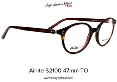 Airlite S2100 47mm TO Sunglasses, American, Sunnies, Shades, Eyeglasses, Glasses