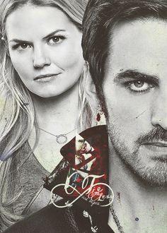 Once upon a time - Captain Hook - Colin O'donoghue - Killian Jones - Jennifer Morrison - Emma Swan – Captain Swan – OUAT  #CaptainSwan