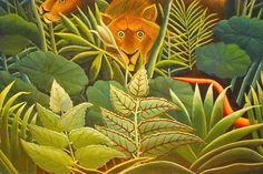 Painting by Henri Rousseau 6