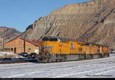 RailPictures.Net Photo: UP 7449 Union Pacific GE ES44AC at Helper, Utah by James Belmont