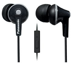 Panasonic ErgoFit In-Ear Earbuds Headphones with Mic/Controller Waterproof Bluetooth Headphones Best In Ear Headphones, Best Earbuds, Headphones With Microphone, Headphone With Mic, Buy Earphones, Panasonic Headphones, Best Bluetooth Headphones, Bluetooth Gadgets, Electronics Gadgets