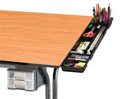pencil holder to attach to drawing table - Google Search