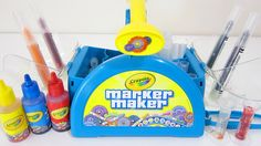 Make Custom Colored Markers Yourself! Body Spa, Make Your Own, How To Make, Slime, Markers, Easy Diy, Play Doh, Kit, Disney Toys