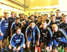 Ferro Ezequiel - Pasión sin límites / Encuentro con la selección argentina de fútbol, antes de la Copa América Centenario 2016, mientras tanto nosotros con los preparativos para el mundial de fútbol de Sordos