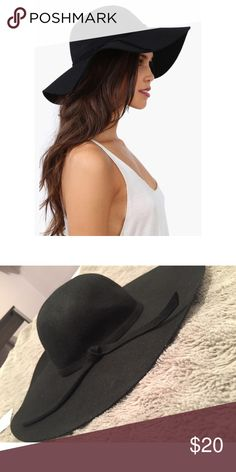 NWT Black Hat NWT. Never used; purchased from a boutique that did not accept returns. This hat gives a very classy, sophisticated look; perfect for a brunch or event. 100% wool. Feel free to make reasonable offers and ask any questions! 👒 Accessories Hats