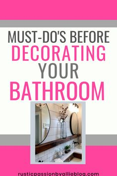 Are you remodeling your bathroom? And looking for the best organization hacks to keep a