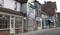 Thame, Oxfordshire.  One imagines that behind the facades of the pretty old houses live antiques dealers who wear non-ironic cravats. Photograph: Katherine Rose