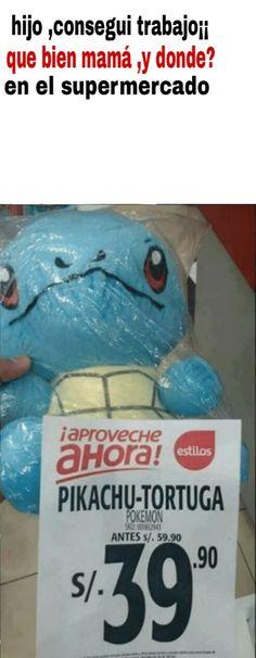 :v pikachu-tortuga me quieren ver la cara de idiota