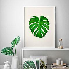 Poster Botanical - Costela de Adão