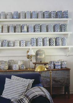 de jarrones de cerámica