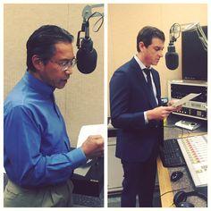 Chain | Cohn | Stiles #attorneys Jim Yoro and Matt Clark hit the KUZZ Radio studios. Catch them on AM 55 FM 107.9 or kuzz.com.
