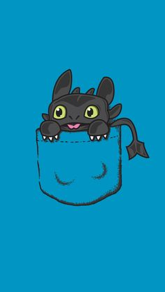 The Paper Pile — Toothless - iPhone wallpaper Credit to...