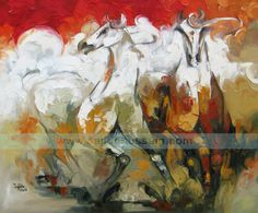 Browse your favorite abstract horse art painting prints from available artwork prints. All prints ship within 48 hours and include a money back guarantee Abstract Paintings, Oil Painting On Canvas, Oil Paintings, Painting Prints, Painting & Drawing, Abstract Art, Pakistan Art, Islamabad Pakistan, Dubai Art
