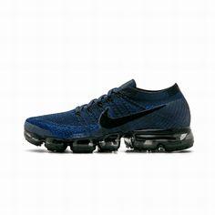 eb220e747 Nike Air VaporMax Lastest Nike Air VaporMax Flyknit Dark Blue Black Shoe  For Discount