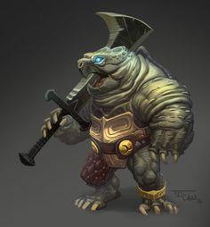 ArtStation - Turtle Warrior, T.D. Chiu