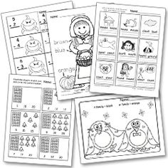 Free printable resources (ten frames, etc..)