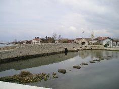 The bridge to Nin in Croatia by Karen V Bryan, via Flickr.