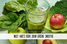 Onmisbaar in je dagelijkse groene smoothie