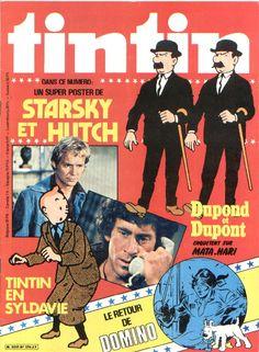 Starsky et Hutch - Dupont et Dupond - Tintin en Syldavie- Domin0
