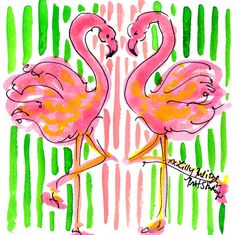 Single and ready...to flamingle. #Lilly5x5 #SummerInLilly