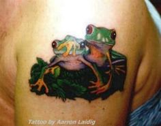 frog tattoos designs | 1348593375 Frog Tattoos Designs 052 Frogs Tattoo