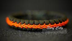 Thin Paracord Fishtail with Center Stitch. par SurfCityParacord