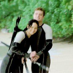 Katniss Everdeen , Peeta Mellark , Catching Fire , perfect , together