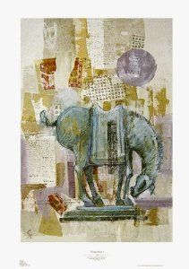 """T'ANG HORSE 1"" Fine Art Poster by Jerry Sic"