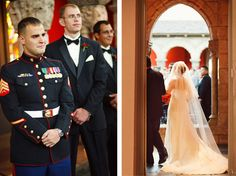 Capture the grooms reaction {Bobbi & Mike}