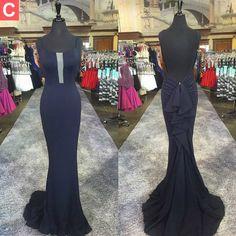 Charming Prom Dress, Sexy Mermaid Prom Dresses, Sleeveless