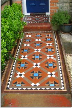 victorian tesselated tiles