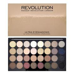 Revolution Ultra 32 Shade Eyeshadow Palette - Flawless